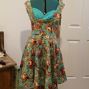 Lindy Bop floral dress